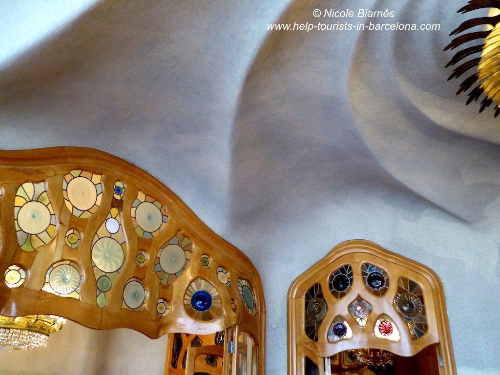 Casa Batllo Decke Tueren