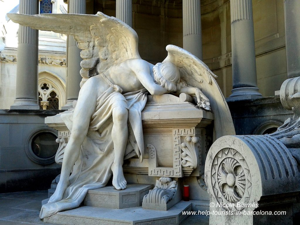 Cementeri Montjuic in Barcelona