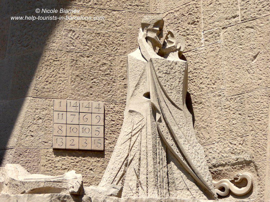Sagrada Familia Kuss des Judas