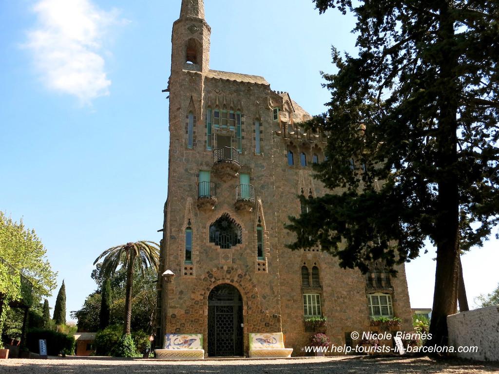 Torre Bellesguard Barcelona Sehenswürdigkeit