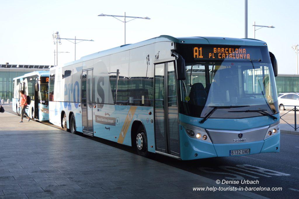 Aerobus Flughafen El Prat Barcelona