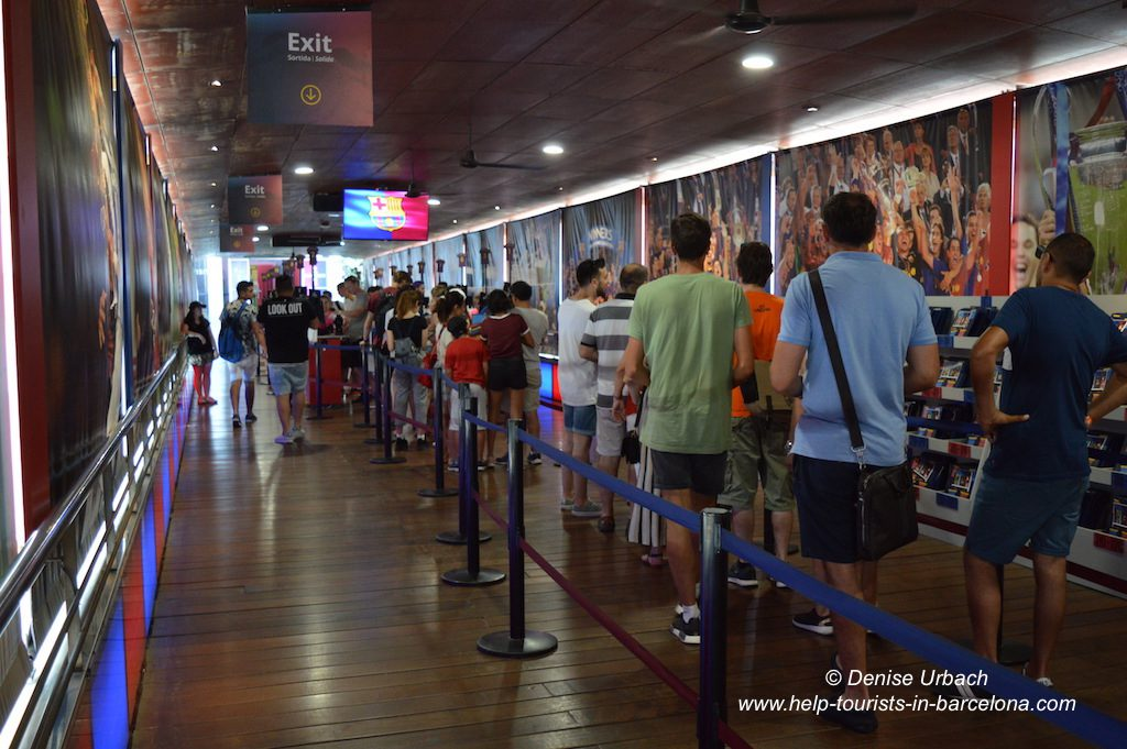 Ausgang Camp Nou