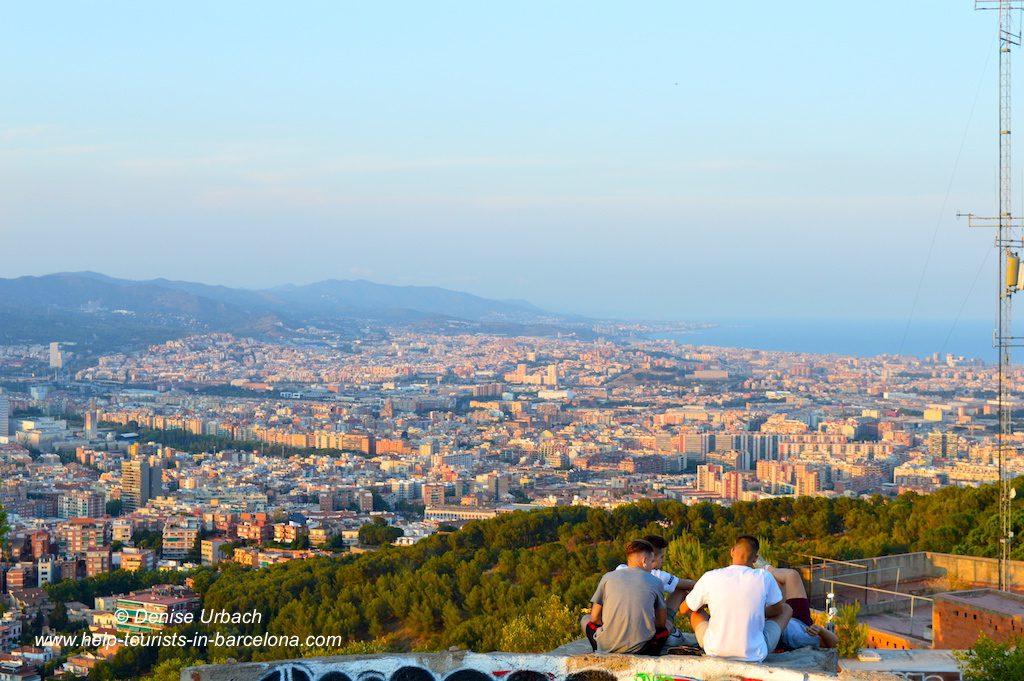 Aussichtspunkt Barcelona bunkers del carmel