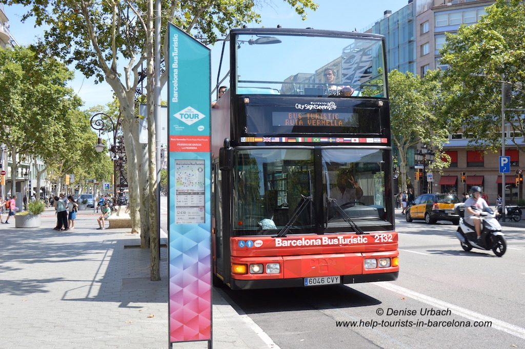 Barcelona Bus Turistic Hop on Hop off Bustour