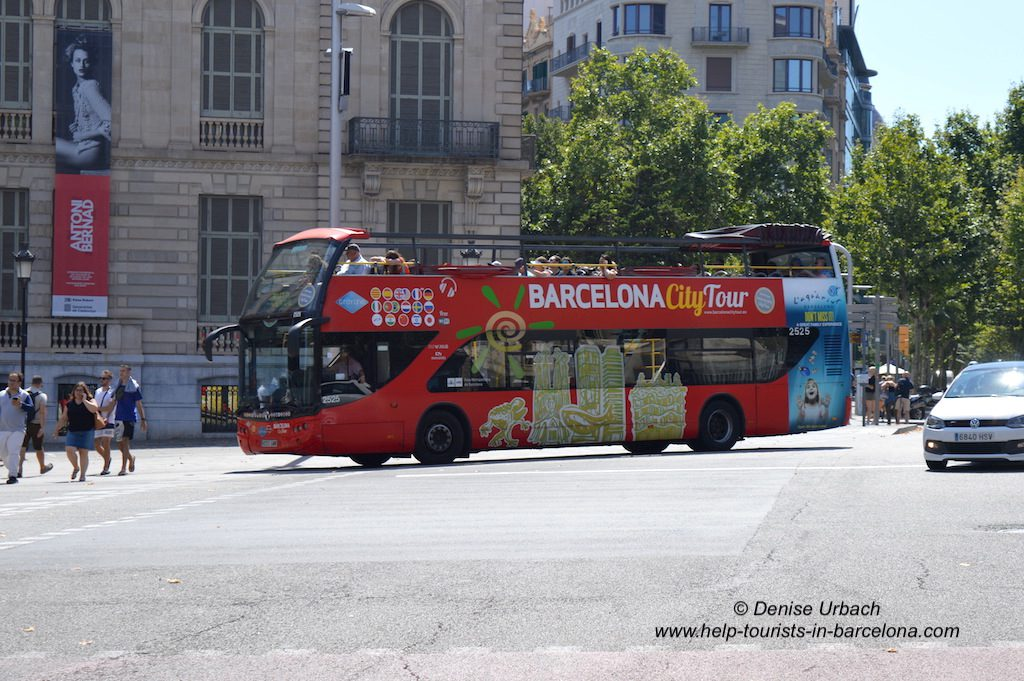 Barcelona City Tour Busfahrt