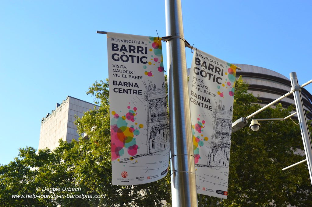Barri Gotic Viertel Barcelona