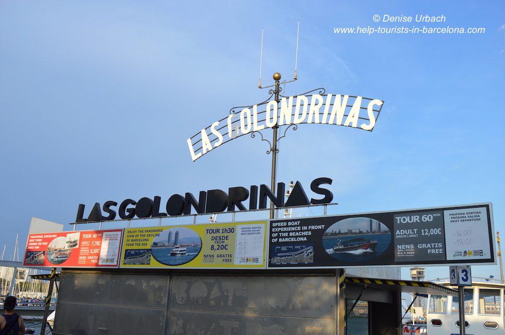 Bootsfahrt Barcelona