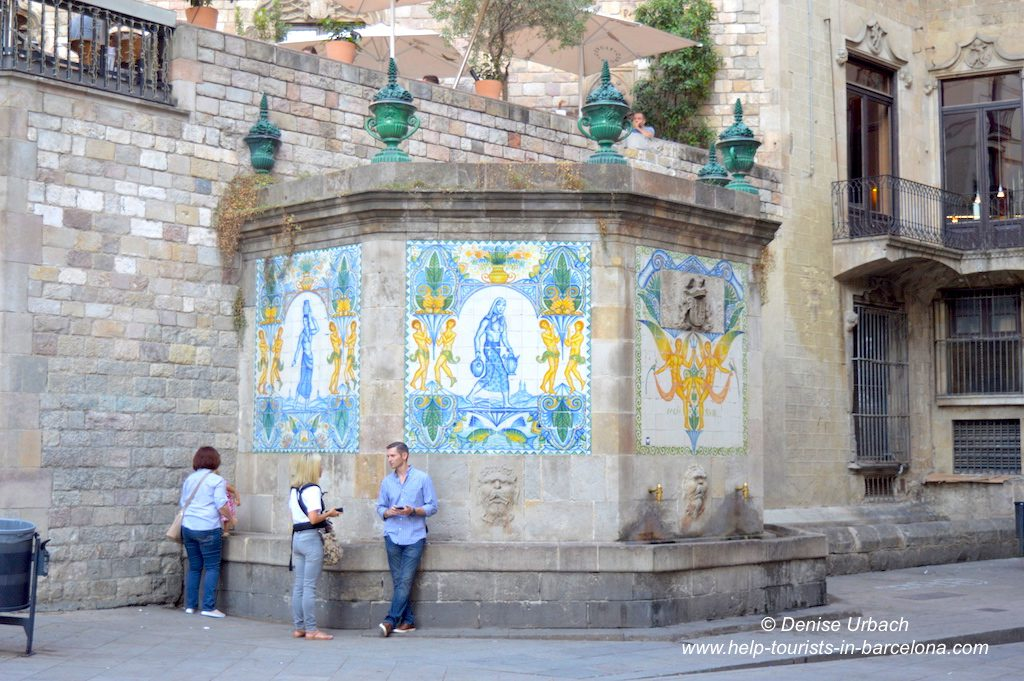 Brunnen Barcelona