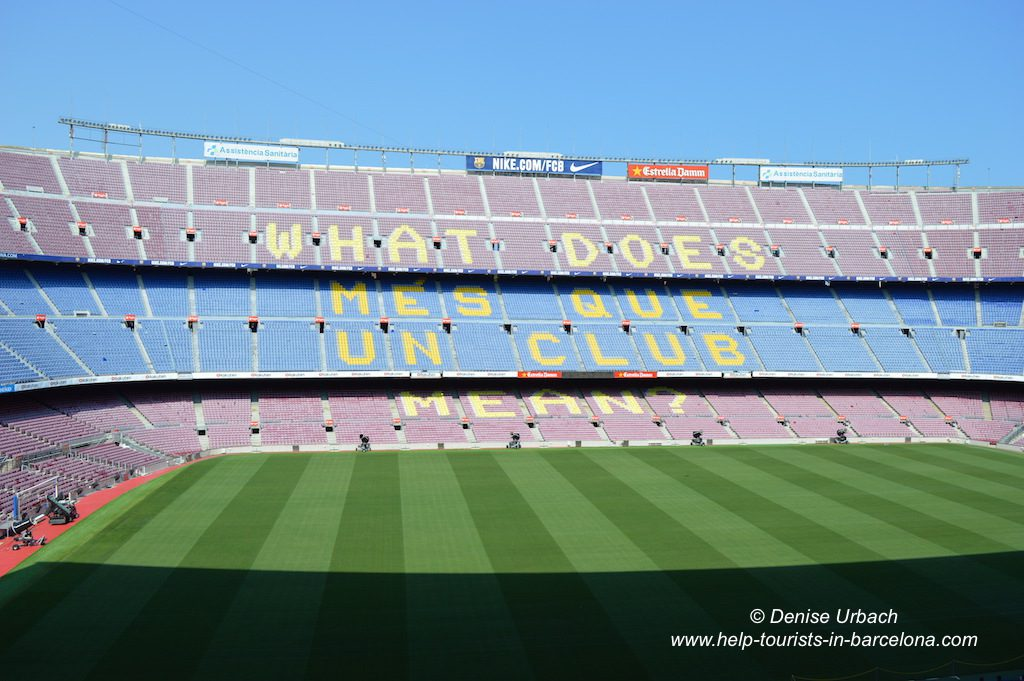 Camp Nou Besichtigung Stadion