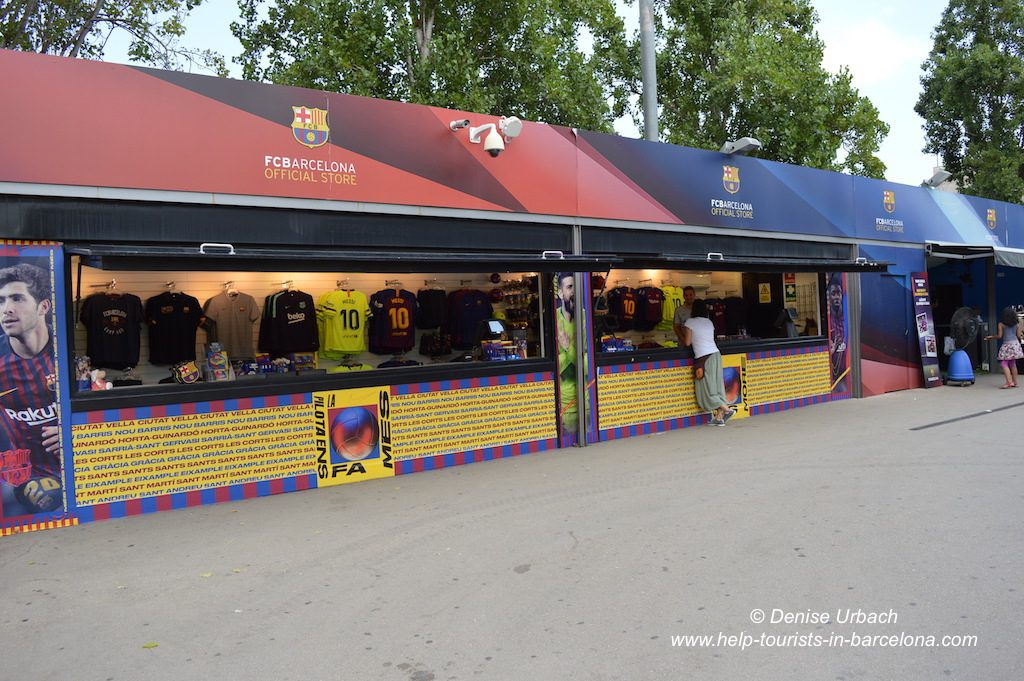 Camp Nou Fanartikel