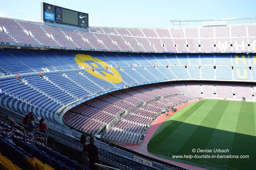 Camp Nou Stadiontour