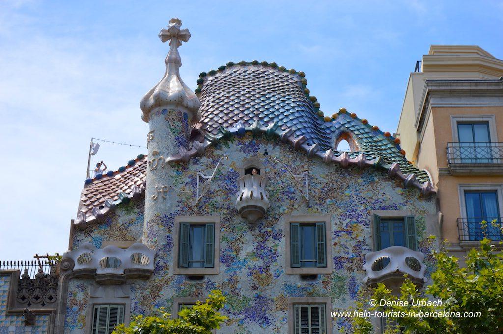 Casa Batllo Drachen Dach