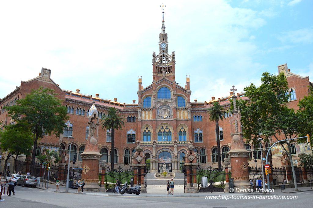 Eingang Recinte Modernista Sant Pau