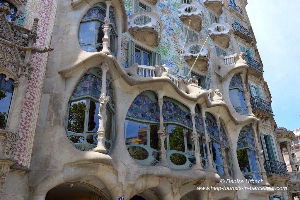 Fassade Casa Batllo