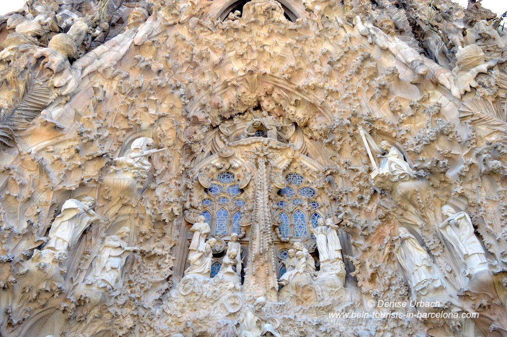 Geburtsfassade Sagrada Familia