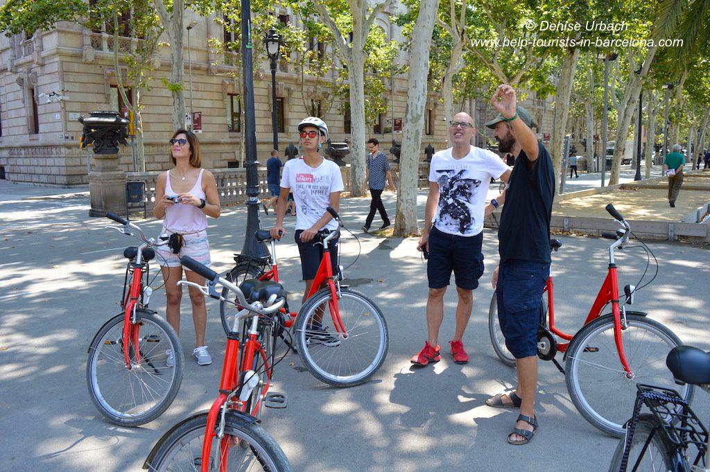 Geführte Fahrrad Tour Barcelona