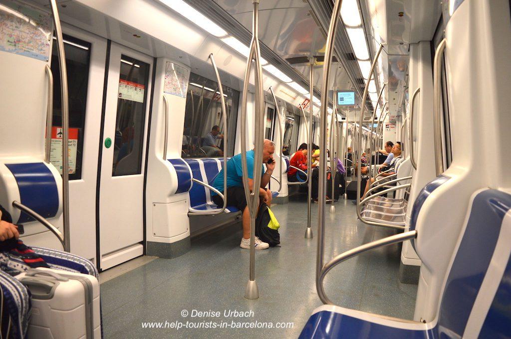 In der Barcelona Metro
