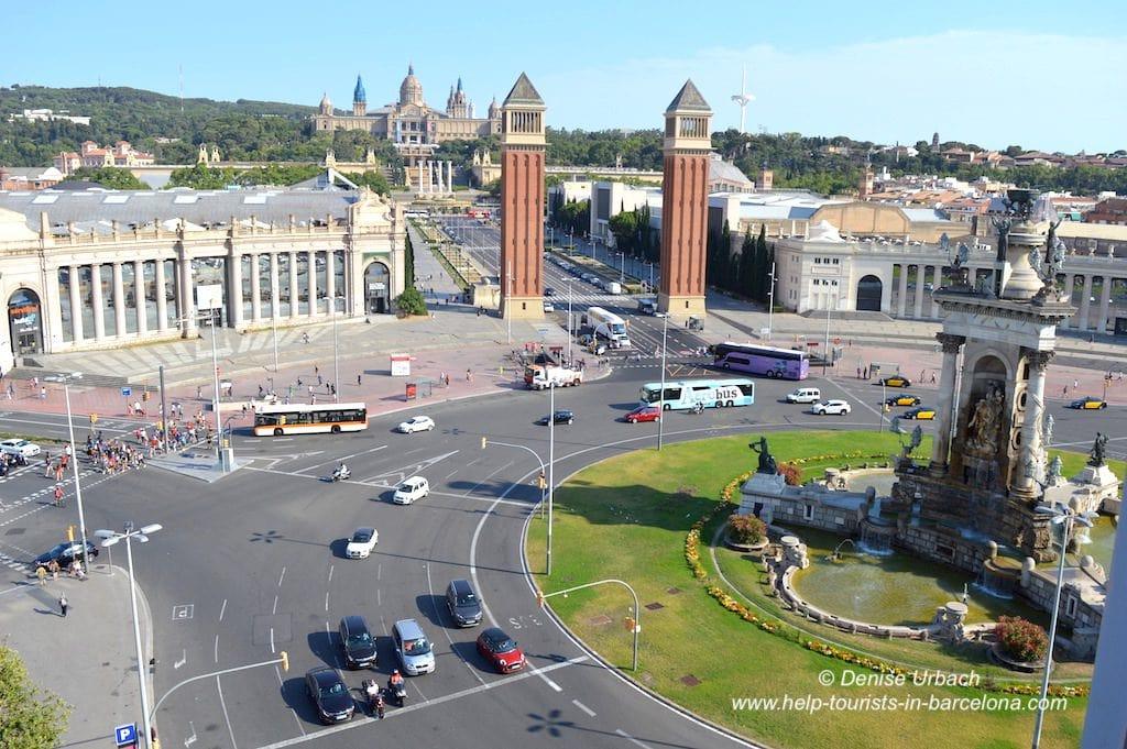 Plaça Espagna besuchen