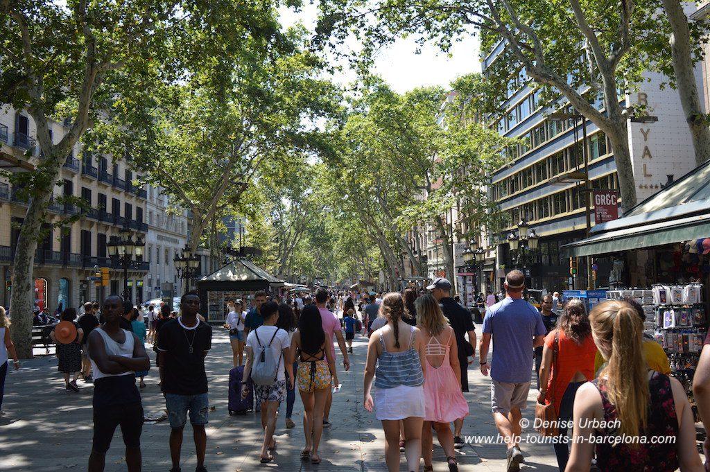 Rambla in Barcelona