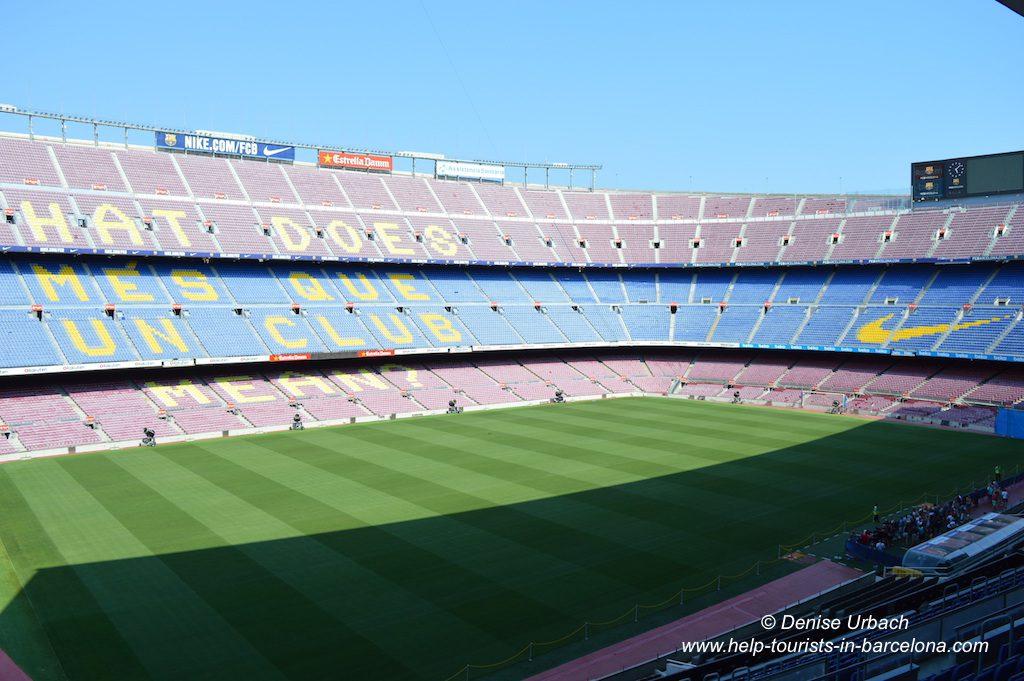 Stadion Camp Nou besuchen