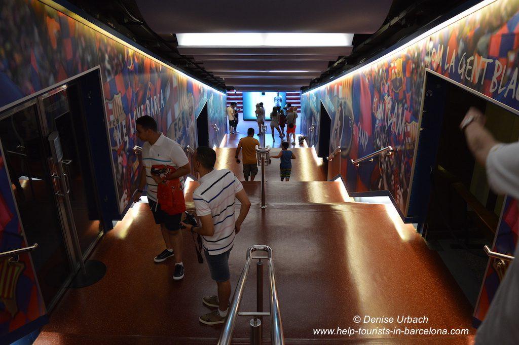 Stadionbesichtigung Camp Nou