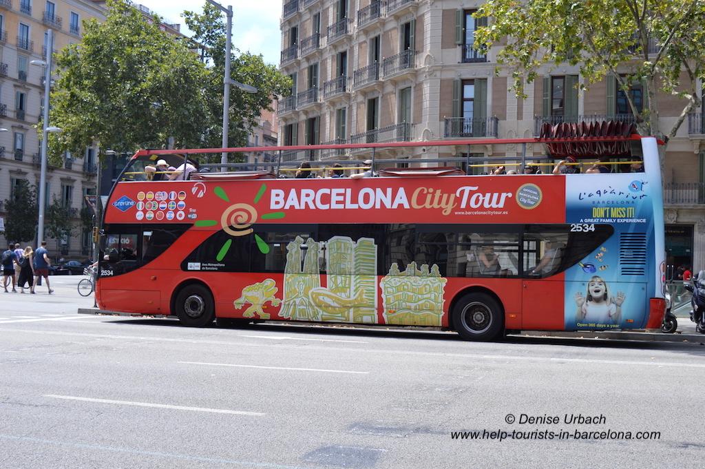Stadtrundfahrt mit Barcelona City Tour
