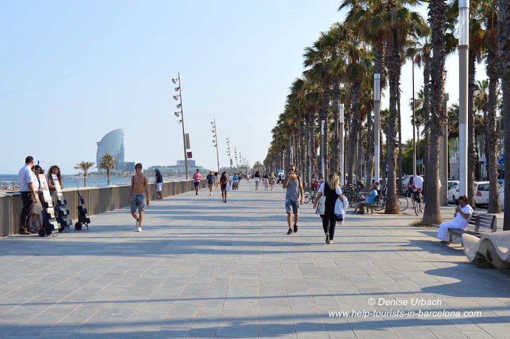 Strand & Hafenpromenade Barcelona