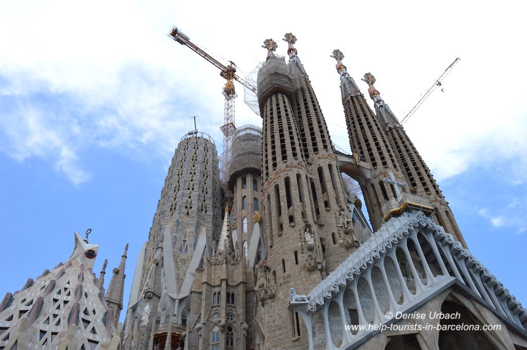 Türme der Sagrada Familia Barcelona