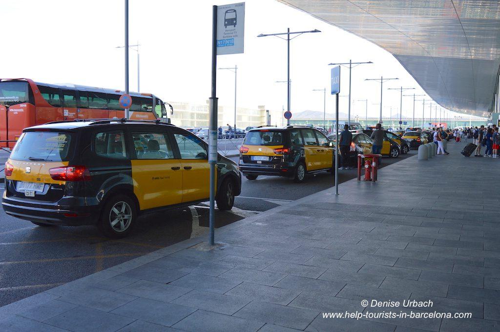 Taxi Flughafen El Prat Barcelona