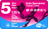 hola-barcelona-travel-card 5 Tage