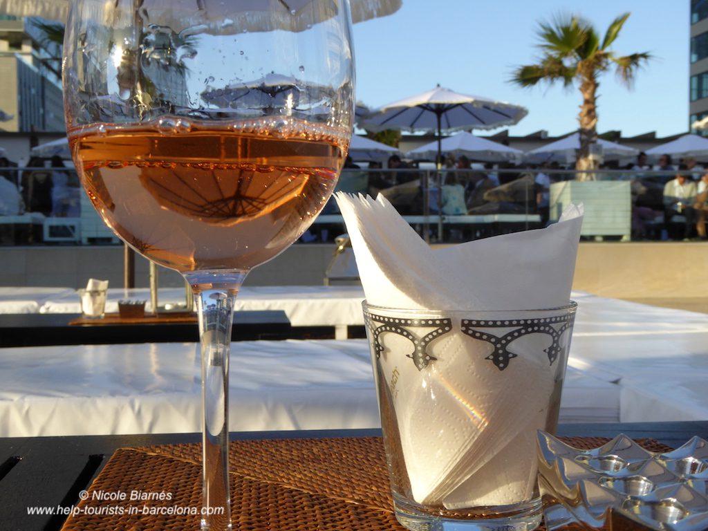 cocktail hotelterasse barcelona